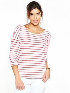 v-by-very-stripe-top-with-roll-cuffs