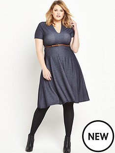 lost-ink-curve-lost-ink-curve-skater-dress-in-denim-jersey