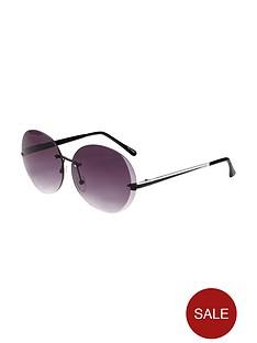 v-by-very-rimless-round-sunglasses