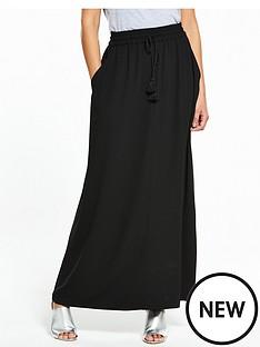 v-by-very-tall-tassel-crepe-maxi-skirt-blacknbsp