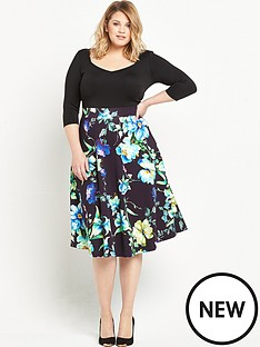 so-fabulous-34-sleeve-scuba-prom-dress