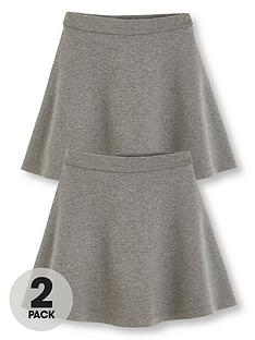 v-by-very-girls-2-pack-jersey-school-skater-skirts-grey