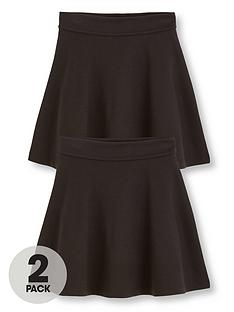 v-by-very-schoolwear-girls-jersey-skater-school-skirts-black-2-pack