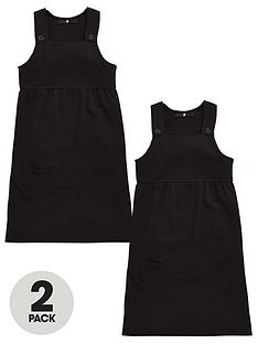 v-by-very-schoolwear-girls-pk2-jersey-pinafore