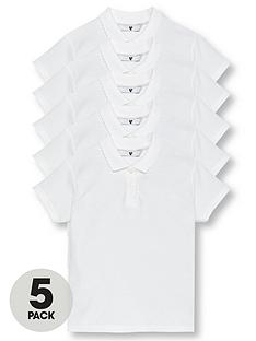 v-by-very-schoolwear-girls-school-polo-shirts-white-5-pack
