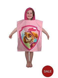 paw-patrol-stars-poncho-towel