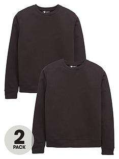 v-by-very-2-pack-crew-neck-school-sweatshirts