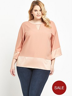 so-fabulous-satin-keyhole-blouse-nude