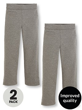 v-by-very-girls-2-pack-jersey-elastic-waist-school-trousers-grey
