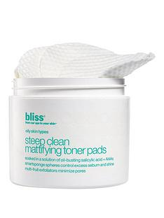 bliss-steep-clean-mattifying-toner-pads-x50