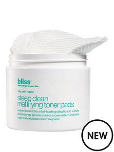 bliss-steep-clean-mattifying-toner-pads-x50