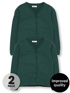 v-by-very-schoolwear-girls-school-cardigans-green-2-pack