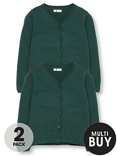 v-by-very-schoolwear-girls-school-cardigans-green-2-pack
