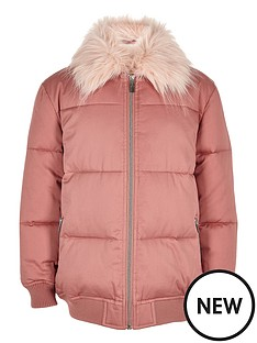 river-island-girls-padded-coat-with-faux-fur-collar