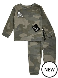 river-island-mini-boys-khaki-camouflage-jog-set