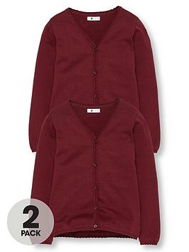 v-by-very-schoolwear-girls-school-cardigans-burgundy-2-pack