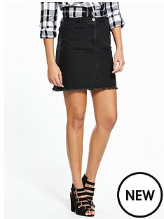 v-by-very-fray-hem-a-line-mini-skirt