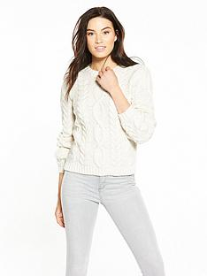 v-by-very-3d-cable-blouson-sleeve-jumper