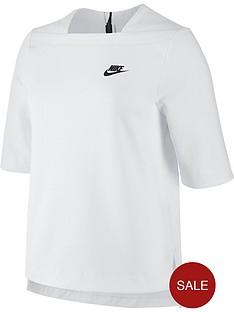 nike-sportswear-tech-fleece-top-whitenbsp