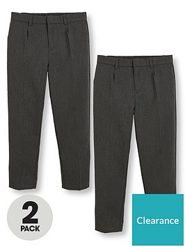 v-by-very-boys-2-pack-classic-woven-plus-fit-school-trousers-grey