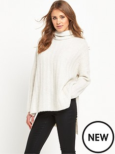 selected-femme-mali-roll-neck-snow-white
