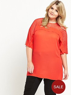 so-fabulous-lace-amp-frill-yoke-tunic-orange