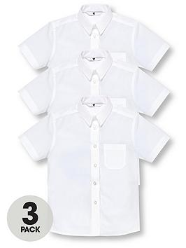 v-by-very-girls-3-pack-short-sleeve-school-shirts-white