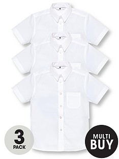 v-by-very-schoolwear-girls-short-sleeve-school-blouses-white-3-pack