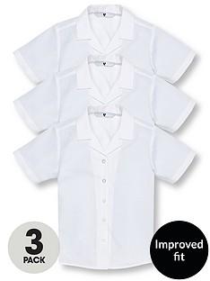 v-by-very-schoolwear-girls-pk3-revere-ss-blouse