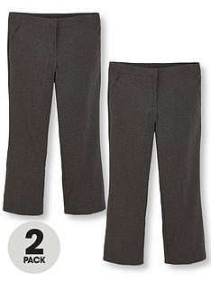 v-by-very-schoolwear-girls-woven-plus-fit-school-trousers-grey-2-pack