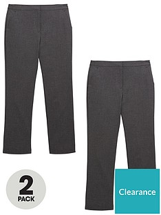 v-by-very-girls-2-pack-woven-school-trousers-grey