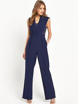 little-mistress-lace-insert-jumpsuit-navy