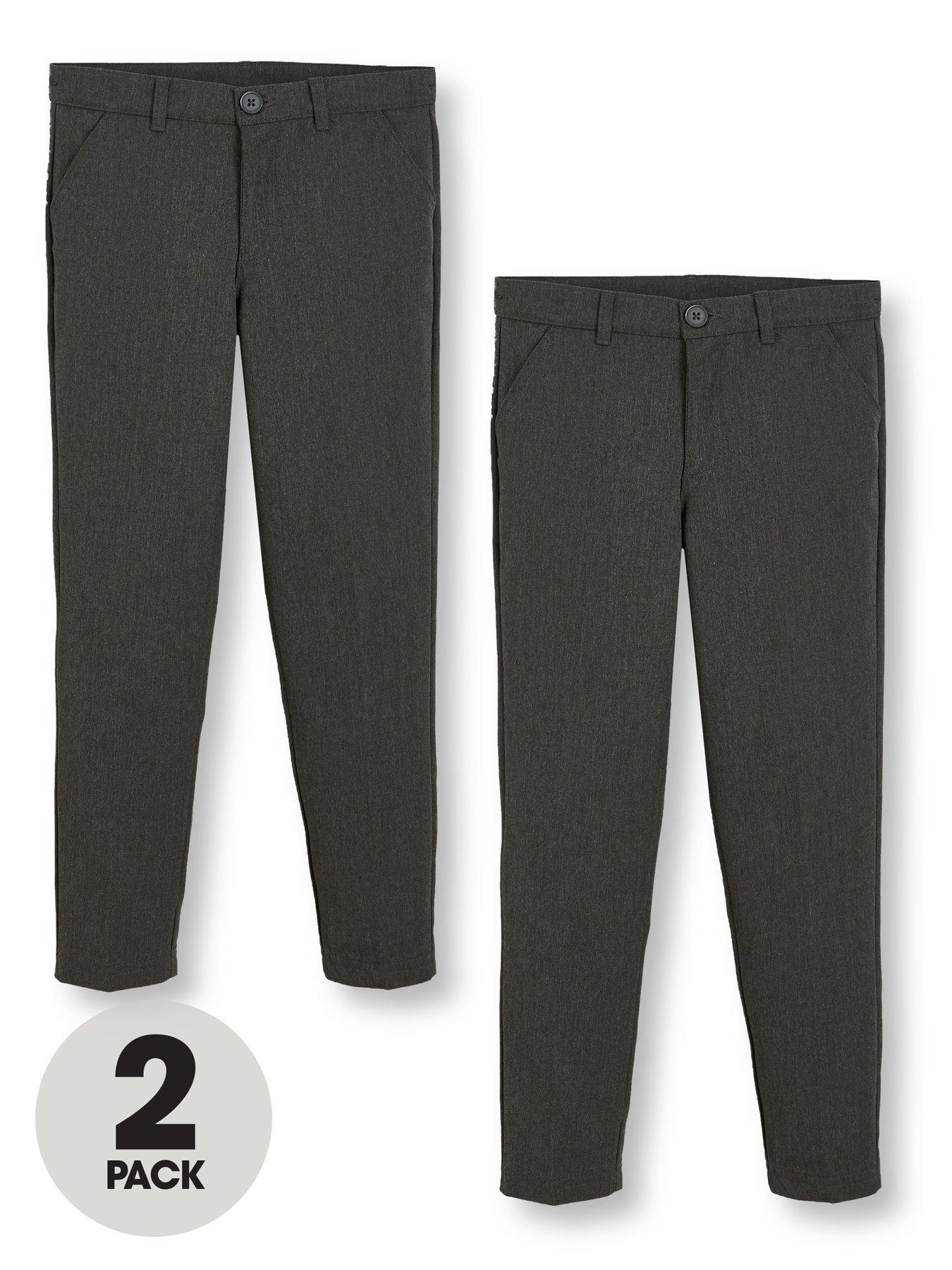 Boys Khakhi School Uniform Shorts Adjustable Waist Size 22