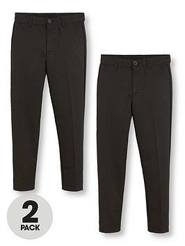 v-by-very-boys-2-pack-slim-school-trousers-black