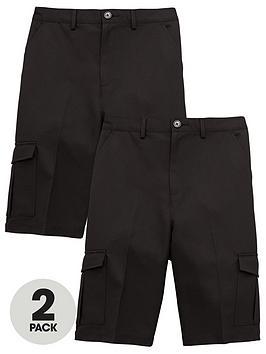 v-by-very-schoolwear-boys-pk2-combat-shorts