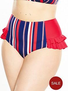 lovedrobe-body-control-stripe-high-waist-bikini-brief