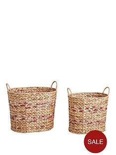oval-water-hyacinth-storage-baskets-set-of-2