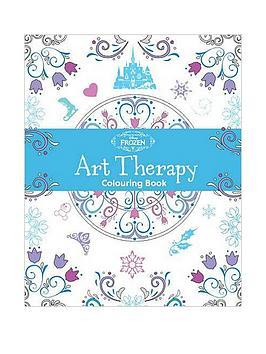 disney-frozen-art-therapy-colouring-book