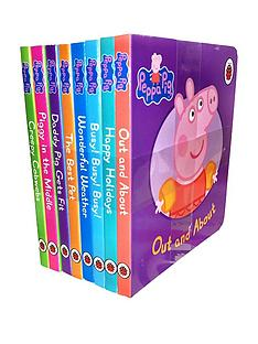 peppa-pig-peppa-pig-childrens-picture-flat-8-board-books-set