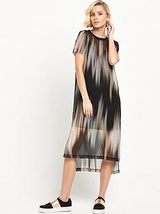 river-island-printed-double-layer-t-shirt-dress-black
