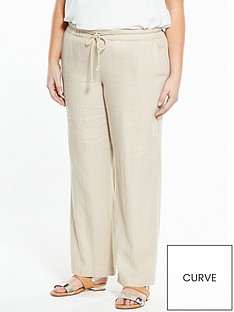 v-by-very-curve-wide-leg-linen-trouser-sand