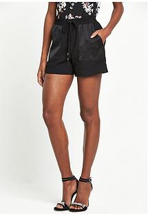 river-island-soft-shorts-black