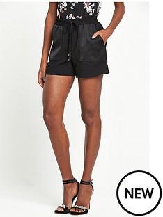 river-island-soft-shorts-black