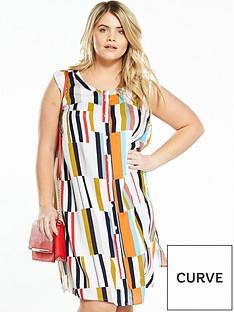 junarose-curve-printed-shirt-dress
