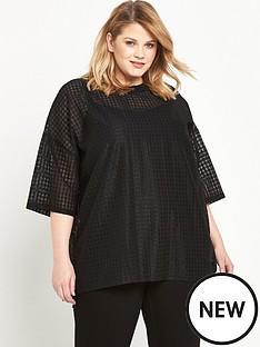 alice-you-diamond-mesh-t-shirt-black