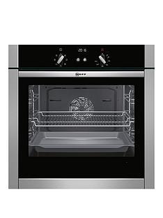 neff-b44m42n5gb-60cm-built-in-slideamphidereg-single-oven-with-circothermregnbsp--stainless-steel