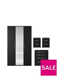 home-essentials--nbspprague-4-piece-package-3-door-mirrored-wardrobe-4-drawer-chest-and-2-bedside-cabinets