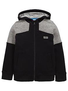 boss-boys-pique-zip-thru-hoodie