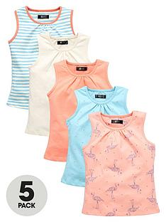 mini-v-by-very-toddler-girls-5pk-flamingo-vests