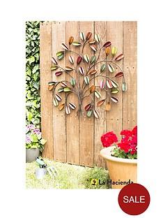 la-hacienda-leaf-posy-wall-art
